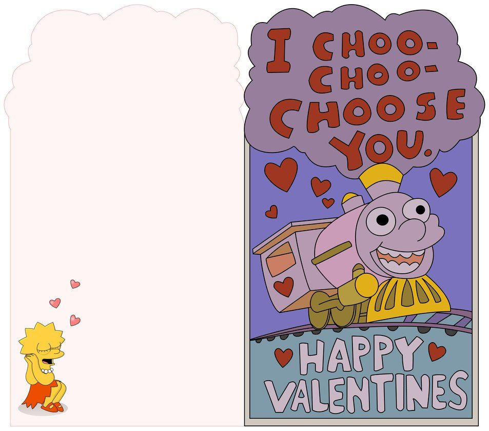 Choo Choo Choose This Printable Valentine Printable Valentines Day Cards Valentines Printables Printable Valentines Cards