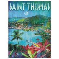 Saint Thomas Waterfront Artwork