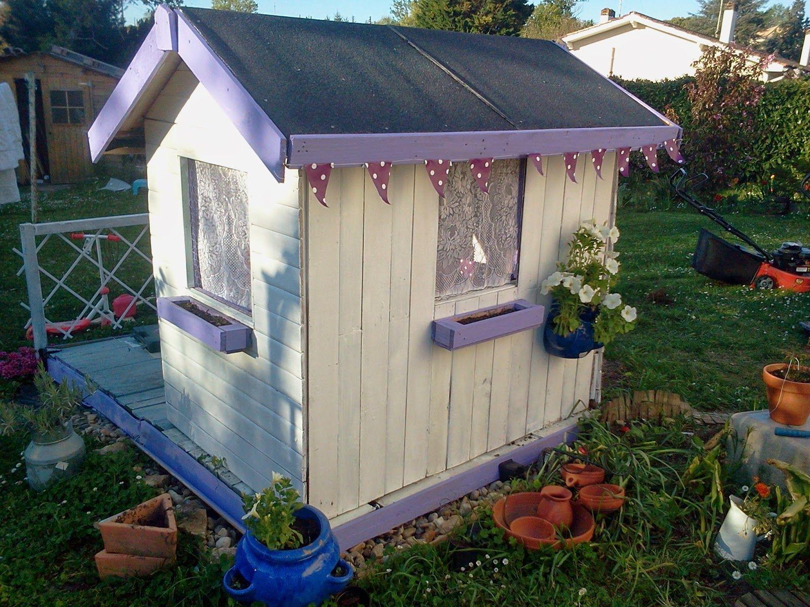 lili joue maman bricole cabane de jardin diy jardin. Black Bedroom Furniture Sets. Home Design Ideas