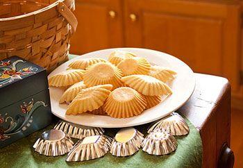 Norwegian Sandbakkels Traditional Christmas Cookies I Grew Up