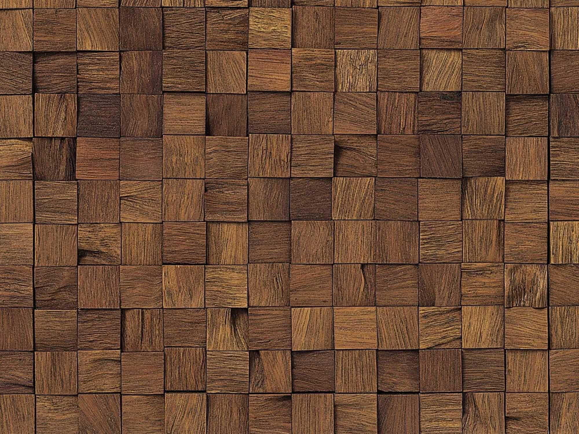 Mosaic Wood Tile Porcelanosa Accent Wall Master Bath Wood