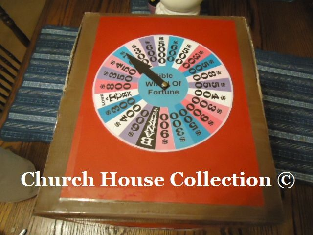 bible wheel of fortune game diy idea to make your own by