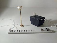 dollhouse electrical plug and play using the round wire method rh pinterest com Dollhouse Wiring Tips Miniature Dollhouse Wiring Kits