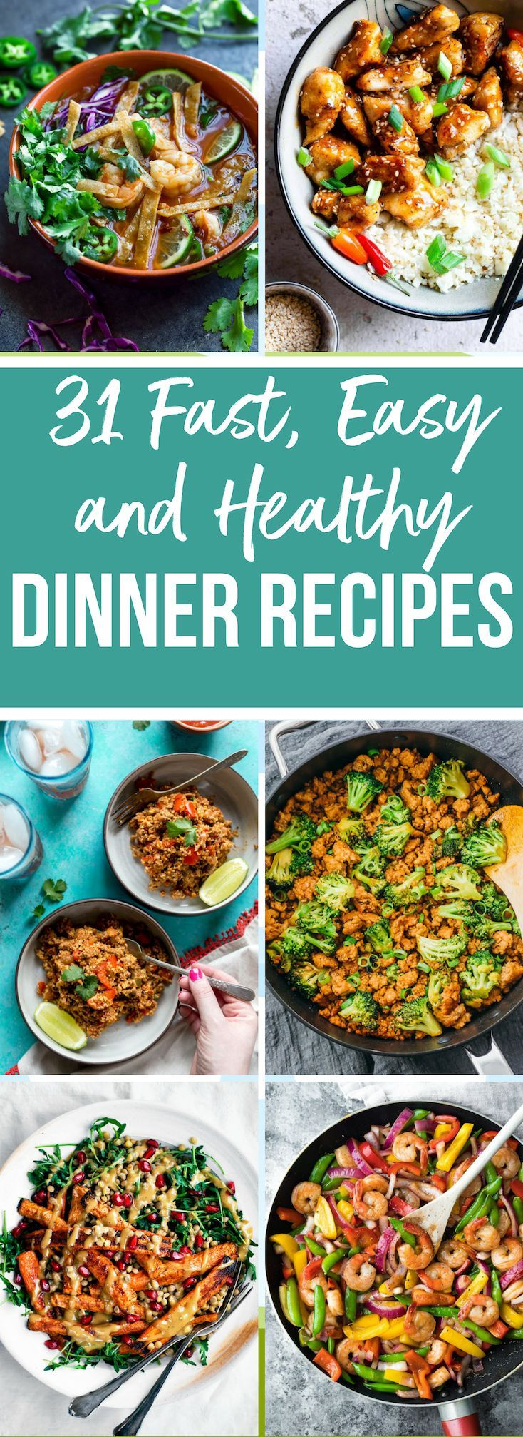 31 Fast Healthy Dinner recipes for the New year images