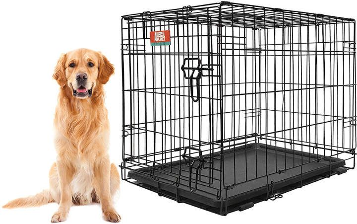Animal Planet Collapsable Metal Crate Products In 2019 Dog