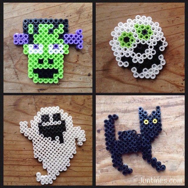 Halloween hama beads by juntinesweb | Perler Beads 2 | Pinterest ...