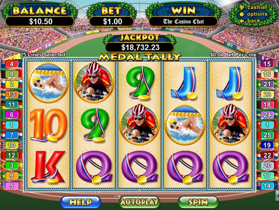 Medal Tally Online Casino Reviews Online casino