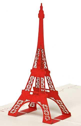 Patron Tour Eiffel A Imprimer