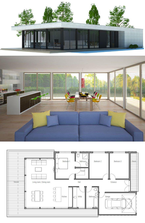 Plan W69402AM Northwest Contemporary Photo Gallery Luxury