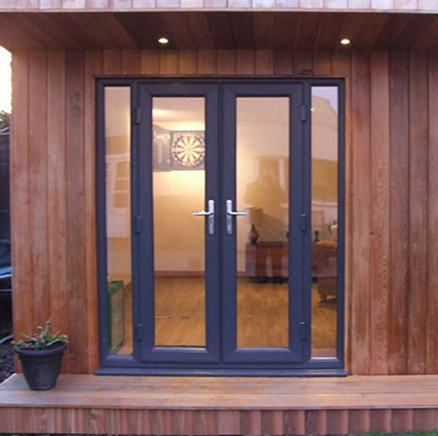 Grey Upvc French Door New Made To Measure Ral 7016 Ebay Upvc French Doors French Doors Patio French Doors