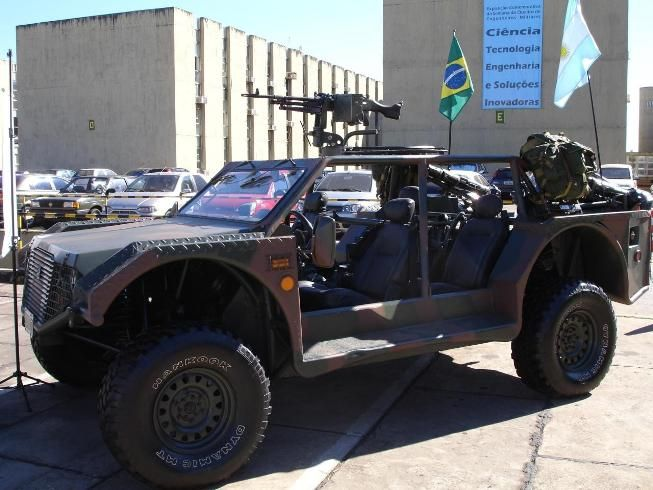 The Brazillian Gaucho 4x4 Light Strike Vehicle