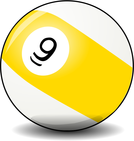 9 Ball Pool Art Ball Billiards