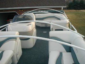 Standard Arch Support System For Pontoon Covers Marine