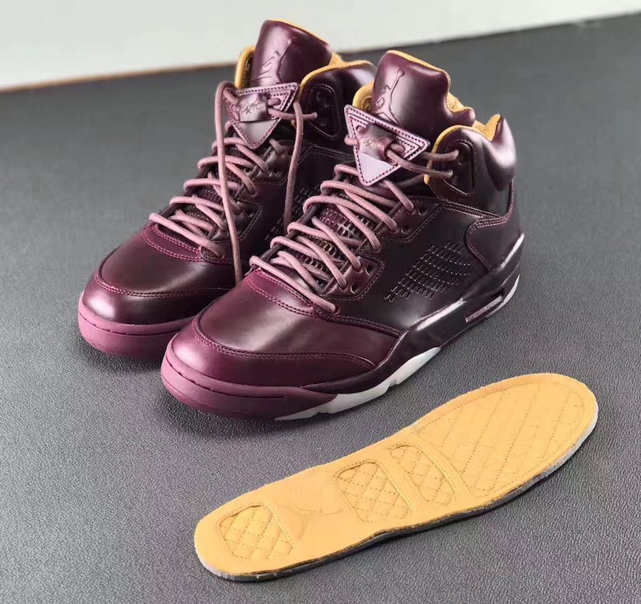 air jordan 5 retro premium wine