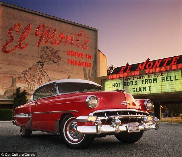 American Drive Ins Under Threat As Conversion Looms American Classic Cars Classic Cars Trucks Car Culture