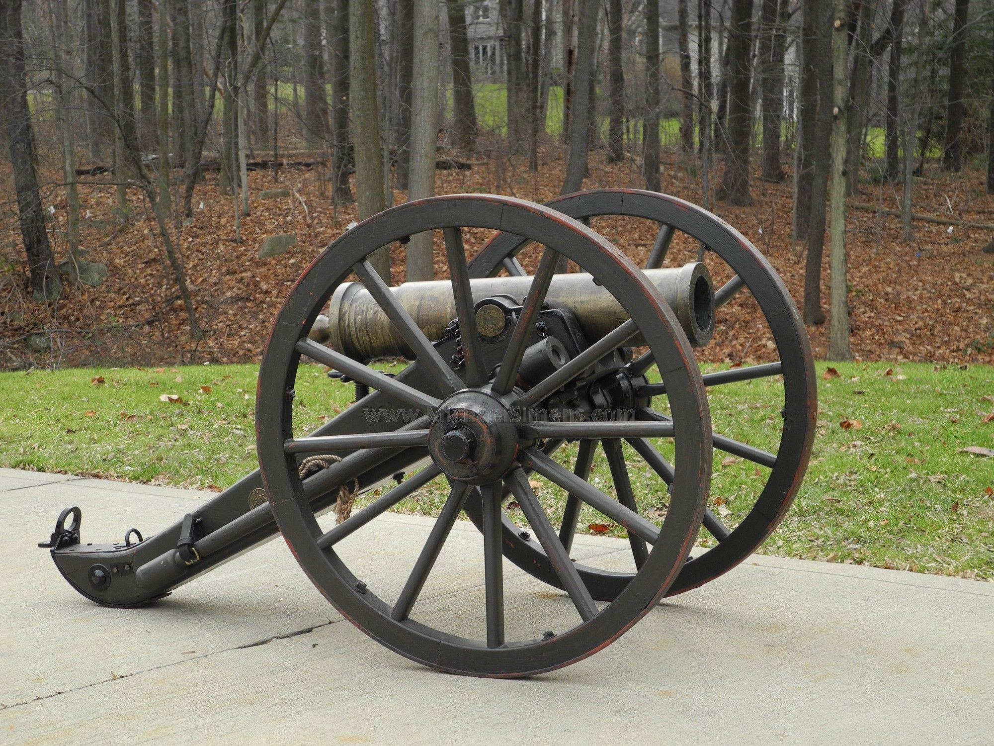 AMES CIVIL WAR MOUNTAIN HOWITZER  1841 Model Ames Foundry 12