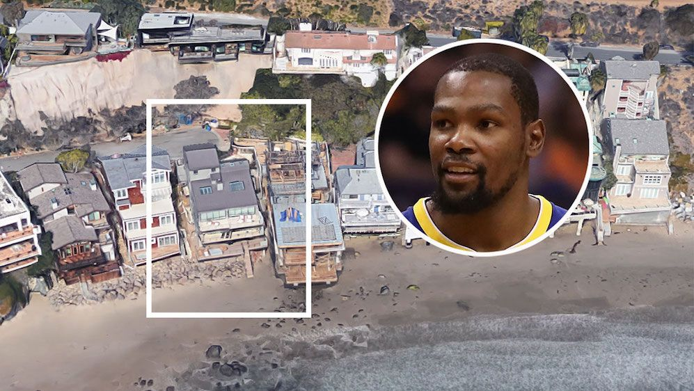 Nba Star Kevin Durant Buys 12m Oceanfront Malibu Mansion