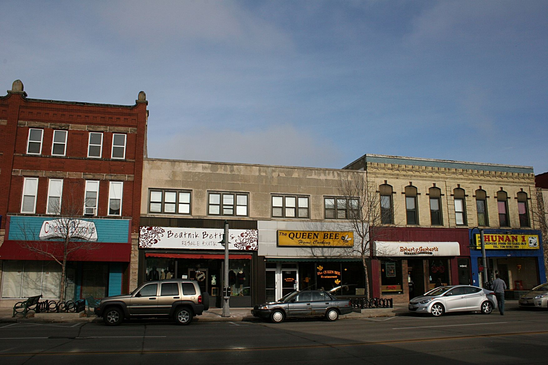 History In Appleton Wi Row Of Old Buildings In Downtown