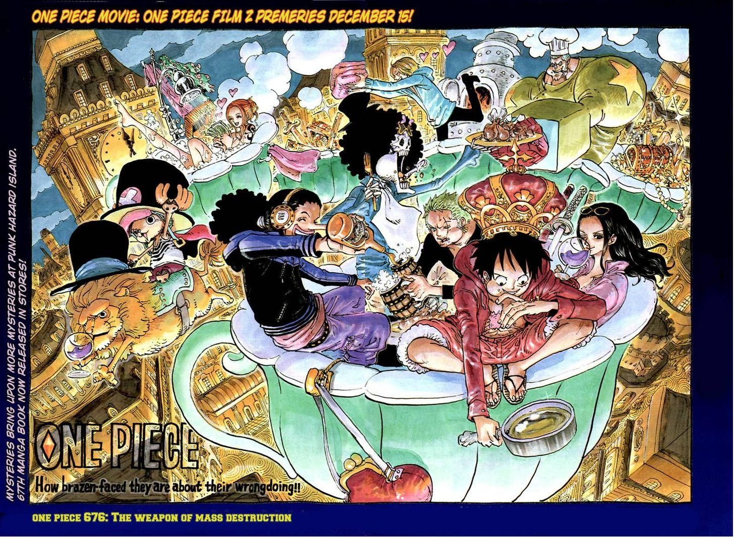 one piece 676 page 2 ワンピース 扉絵 ワンピース ネタバレ onepiece イラスト