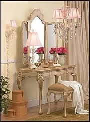 Roses and Rust: DRESSING TABLES - Indulgent or Indispendable