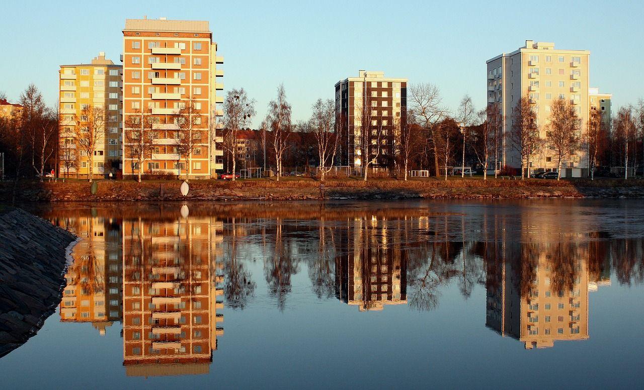 Oulu, Suomi, Rakennukset, Huoneistot, City, Kaupungit