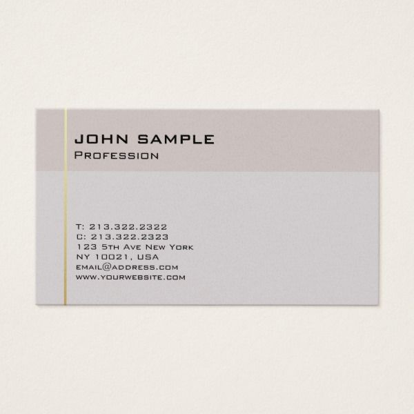 Simple professional elegant consultant luxury business card custom luxury business cards reheart Gallery