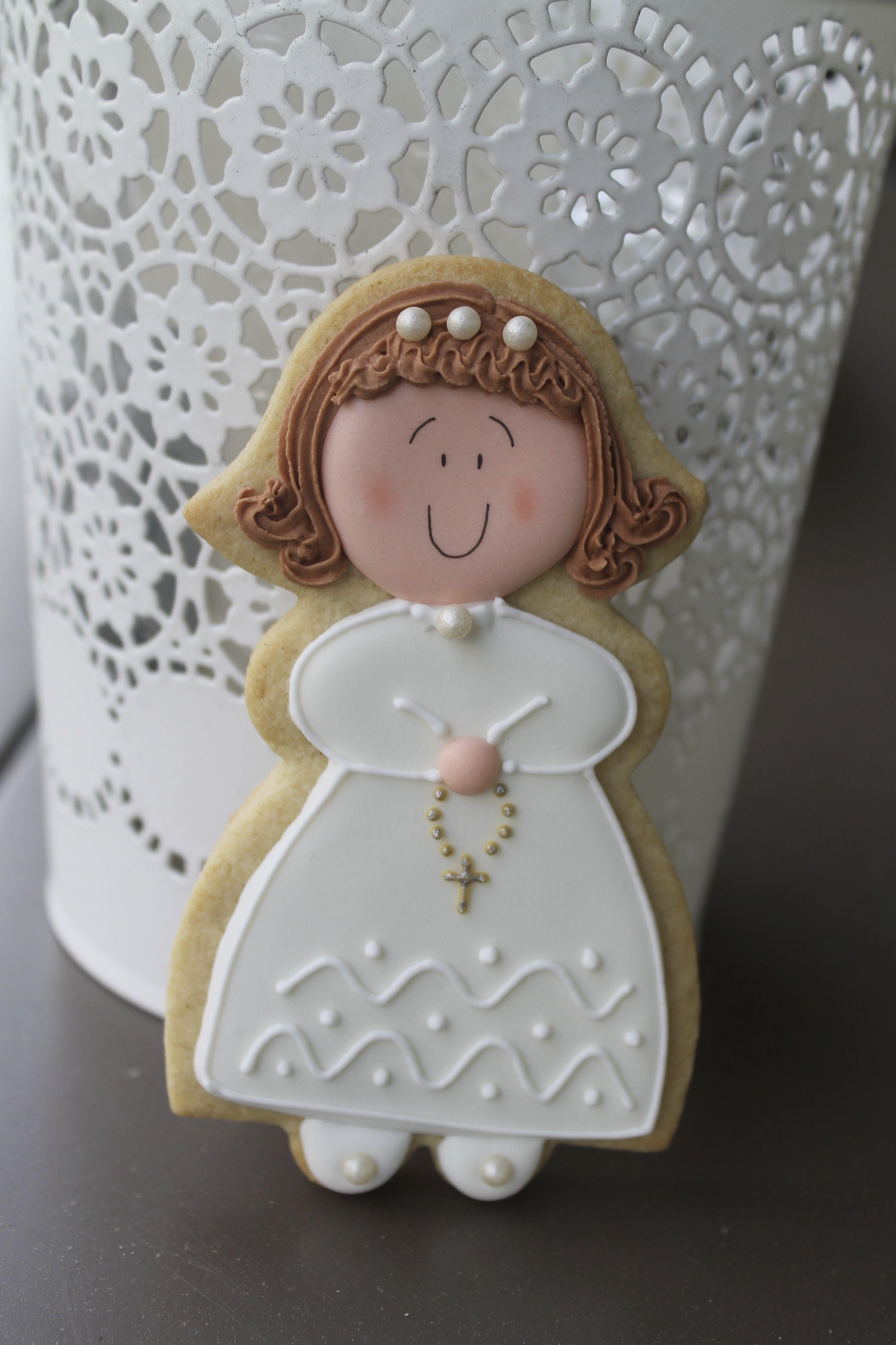 Galletas de comunión con glasa de Ester y sus galletas