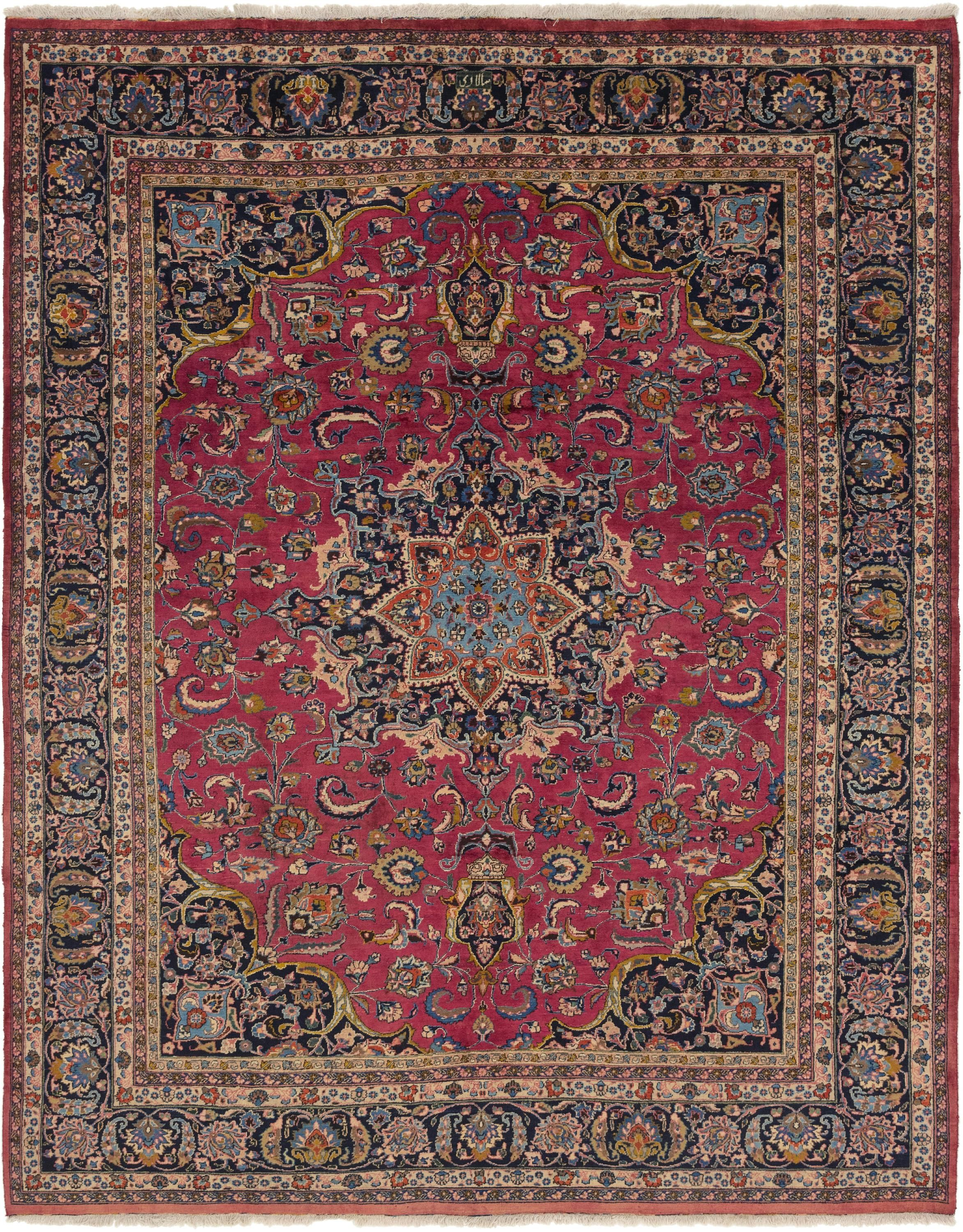 Red 10 X 12 7 Mashad Persian Rug Sponsored Red Rug