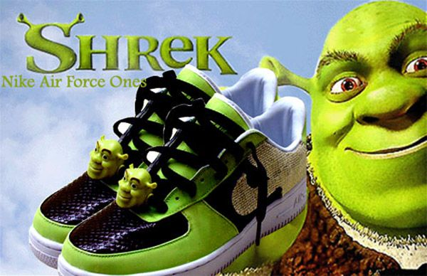 purchase cheap 720e8 f5a15 Zapatillas de Shrek.
