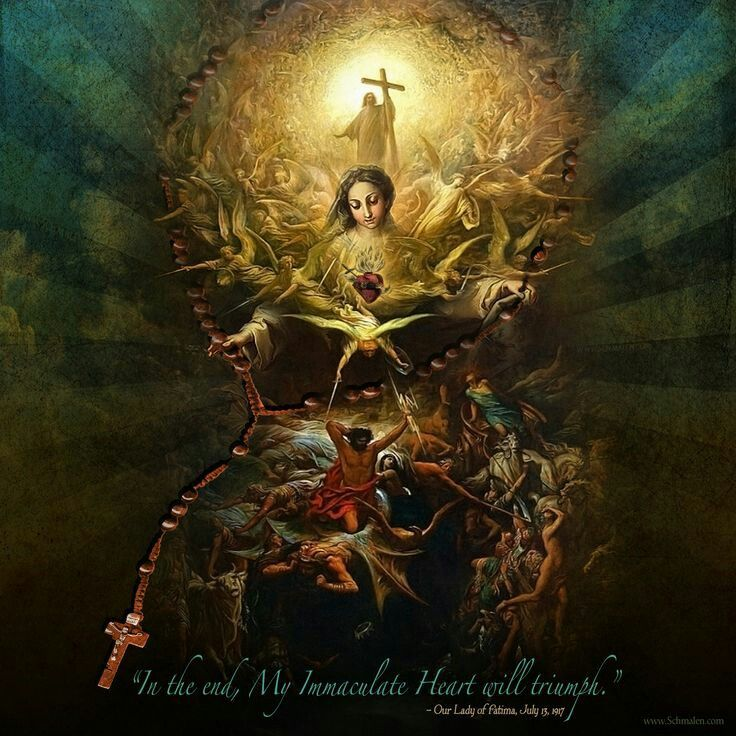 In The End My Immaculate Heart Will Triumph love this