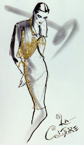 I Had The Pleasure Of Taking Fashion Illustration Classes With Steven Miller At The School Of The Ar Fashion Illustration Art Institute Of Chicago Illustration