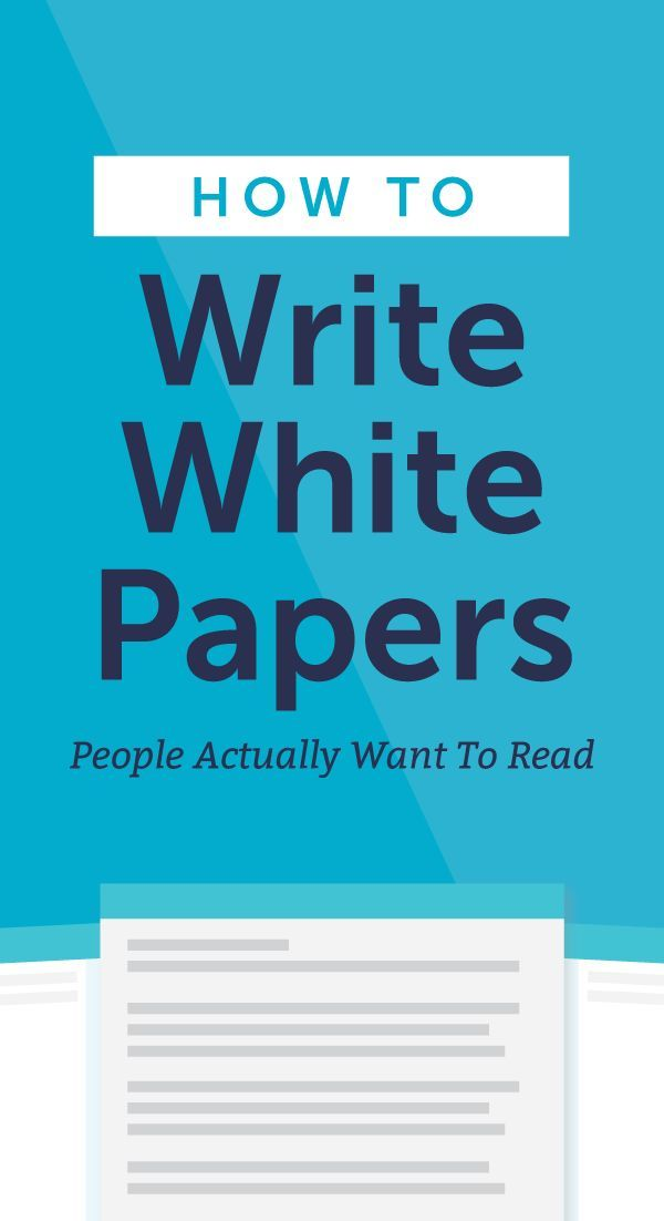 How to Write White Papers People Actually Want to Read White - white paper template