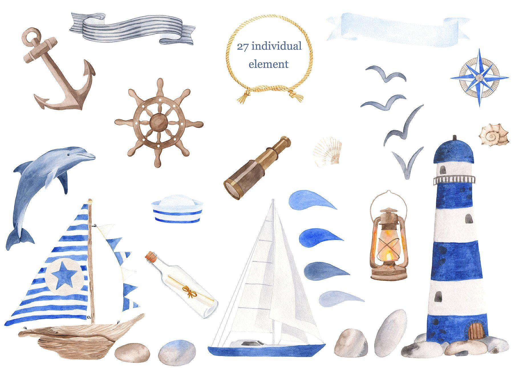 морская открытка рисунок аккаунты