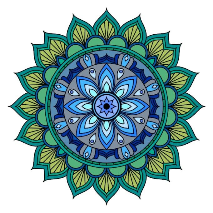 Pin by Svetlana Lisetska on DA COLORARE | Mandala coloring ...