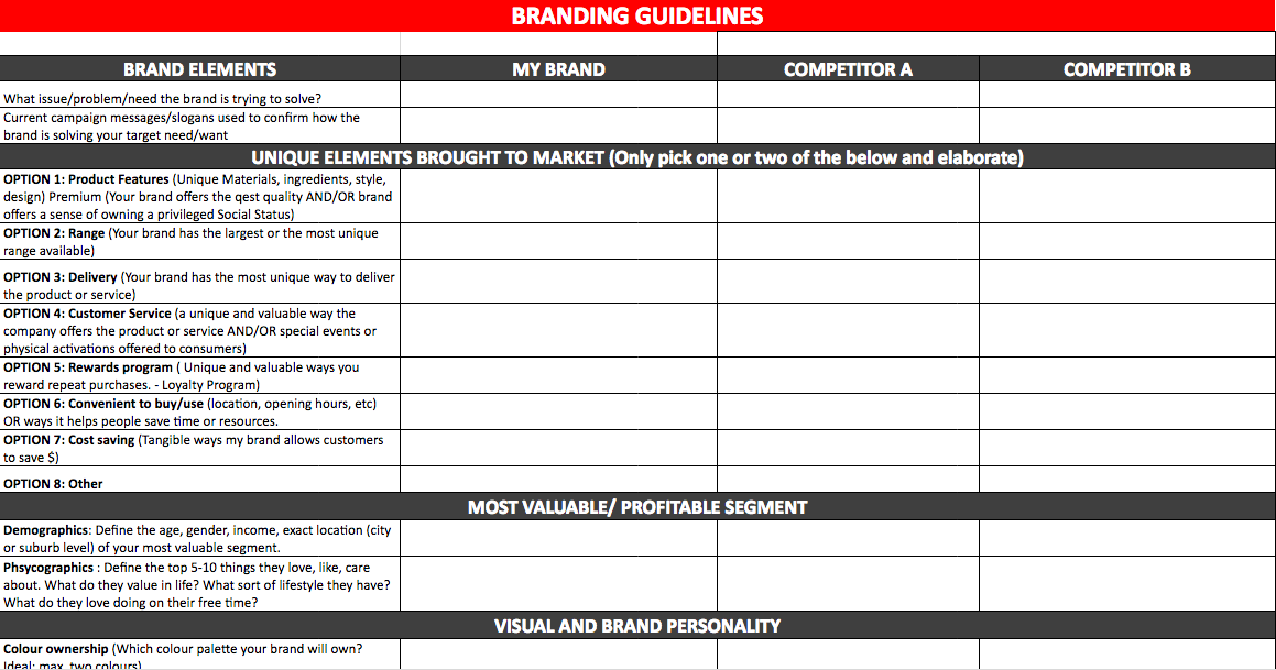 Best Social Media Marketing Plan Template  Marketing Plan