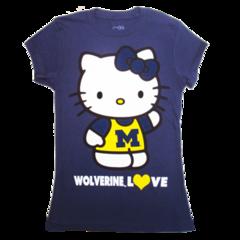 b07398483 U of M Hello Kitty Tshirt | Hail to the Victors! | Hello kitty, Love ...