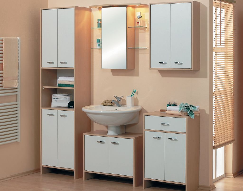 Badezimmer konfigurator ~ Badezimmer weiss buche nachbildung woody modern jetzt