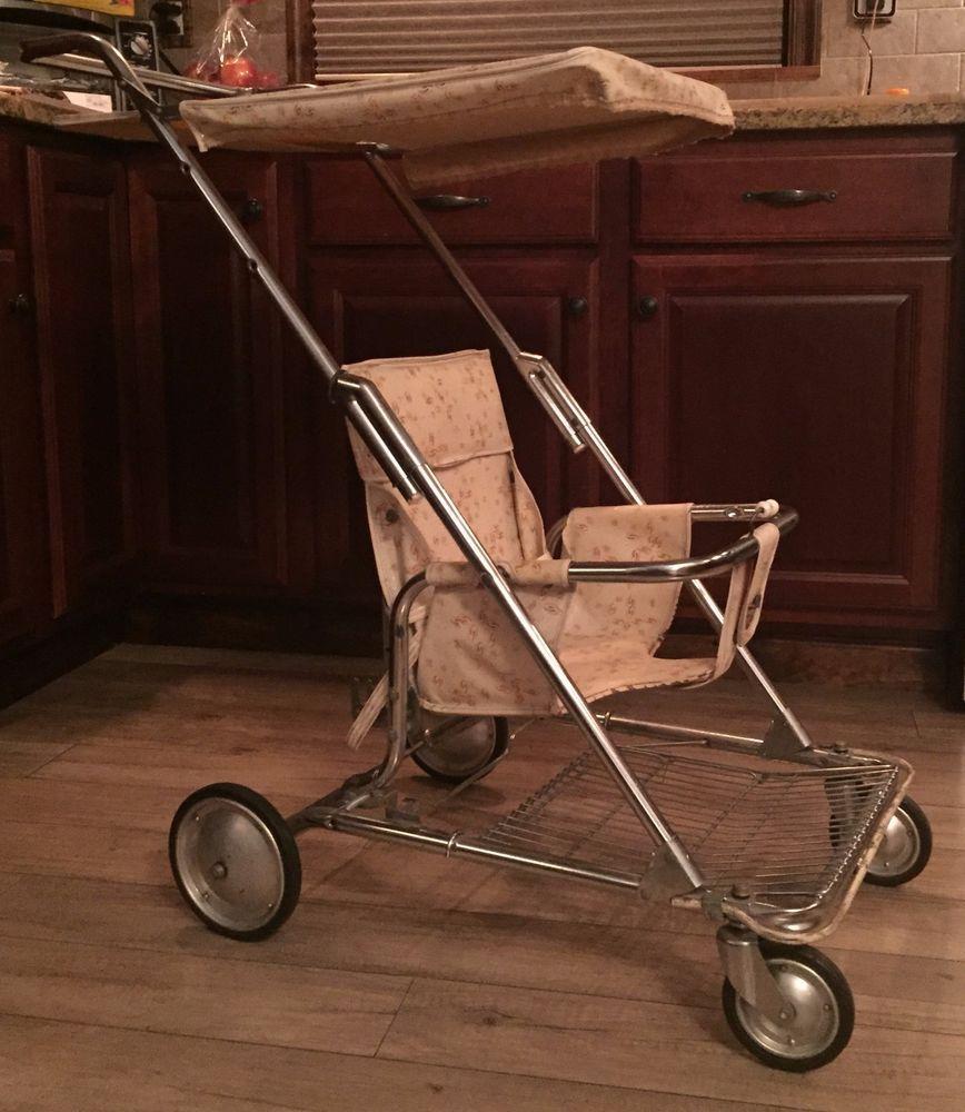 Vintage W.T. Grant Baby Stroller 1970's