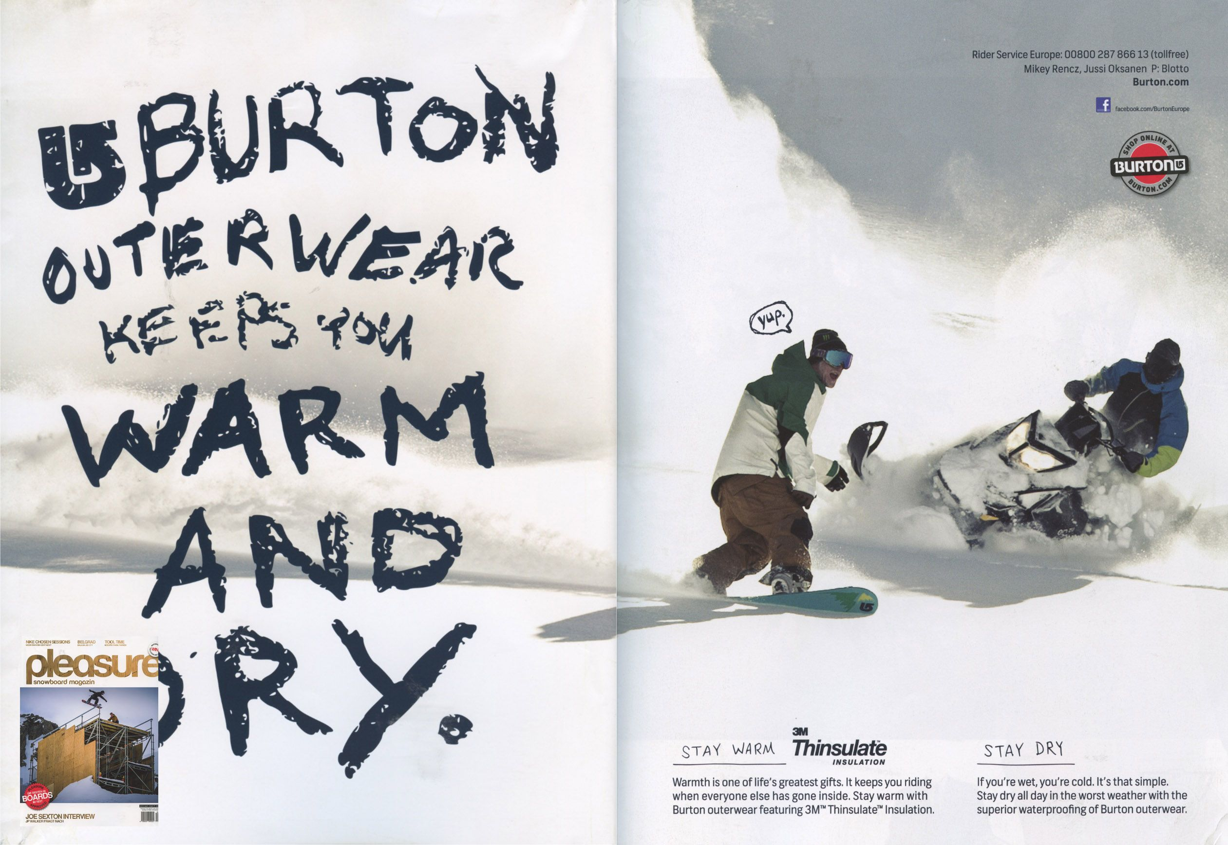 Pleasure - German Austrian Magazine - Mickey Rencz - Snowboard Team - Aug12