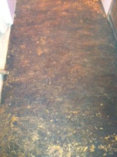 Particle Board Floor Turned Into A Stone Granite Floor Particle Board Floor Granite Flooring Particle Board