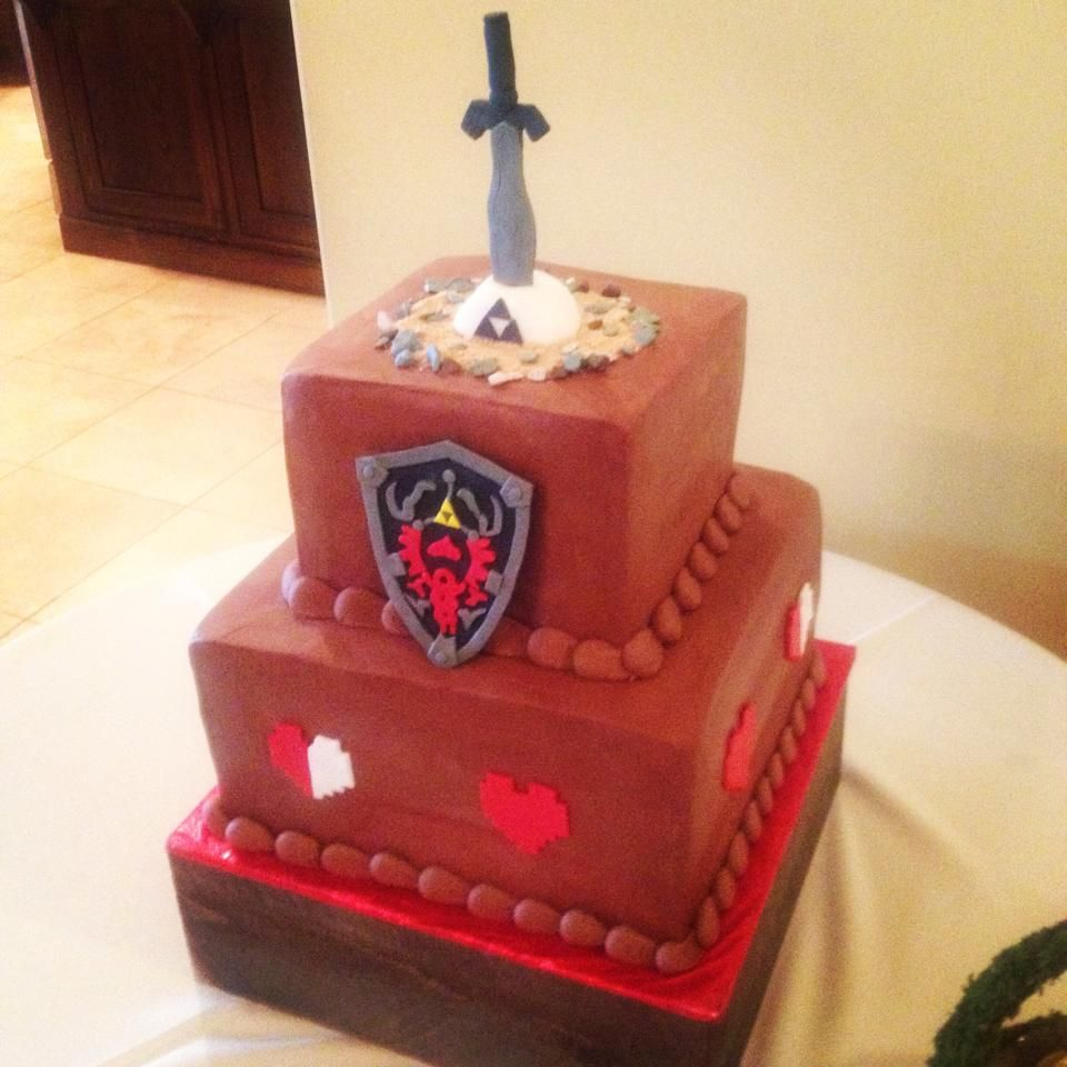 26 Nerdy Wedding Cakes to Geek Out Over   Wedding cake, Cake and ...