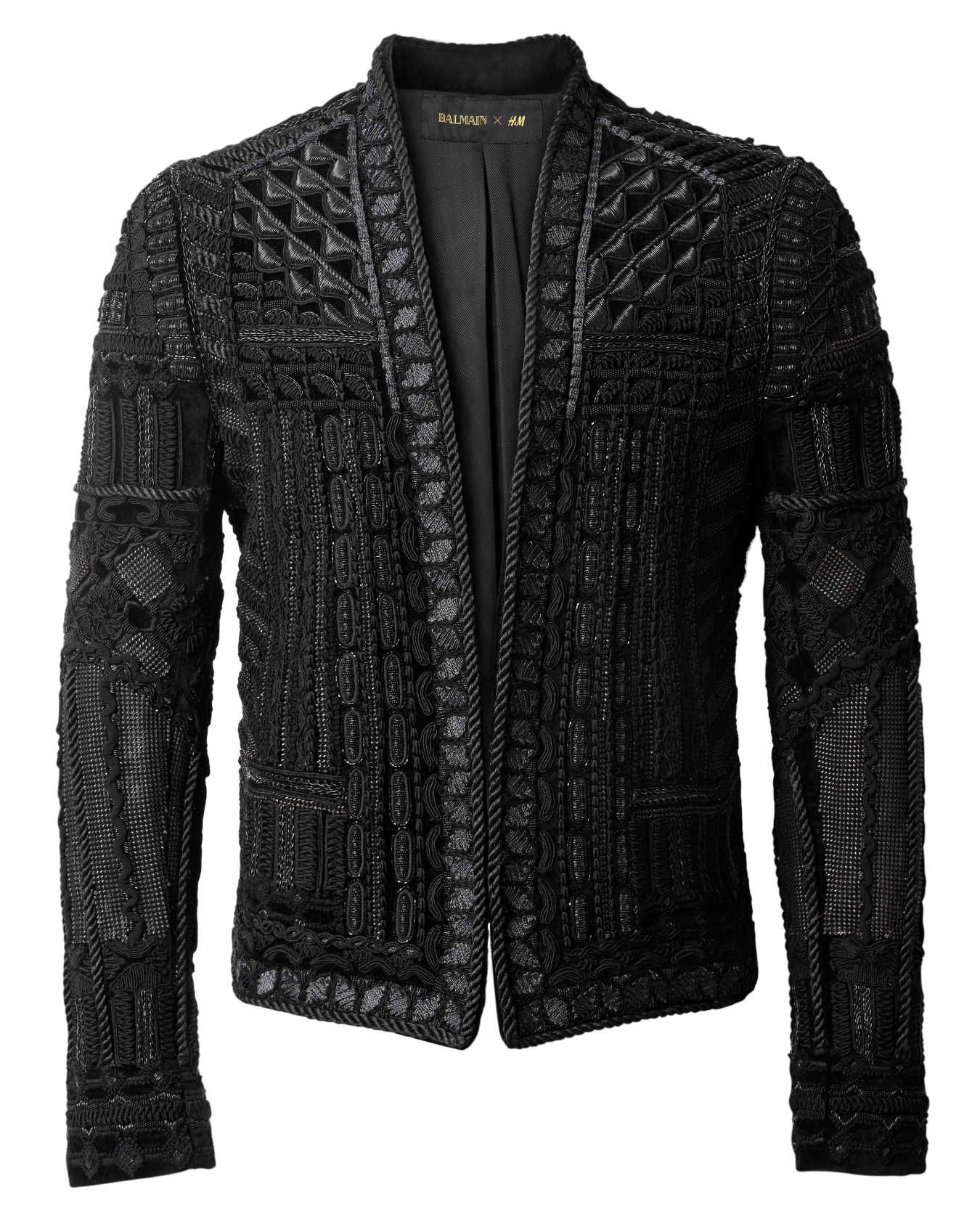 928d27566 Balmain x H&M: See the Full Collection With Prices | Jackets ...