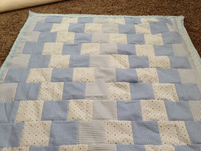 Southern Fabric: Quick Quilt Idea