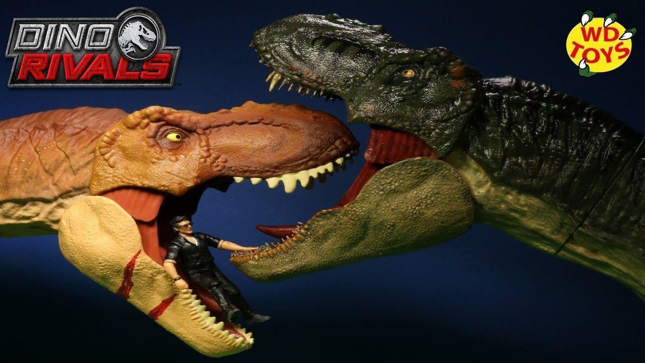 Jurassic World Battle Damage Roarin Super Colossal Tyrannosaurus Rex Sale