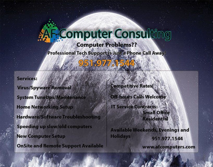 Af Computer Consulting  WwwFbComAfcomputers Virus