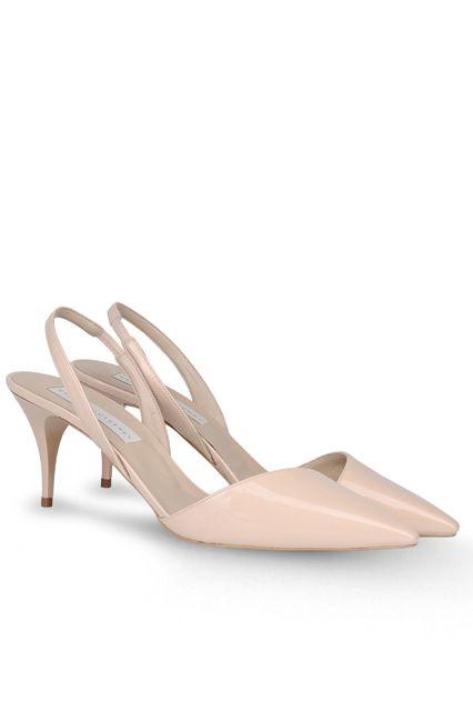 42d2ef4f48e4 Stella McCartney low heeled nude slingbacks
