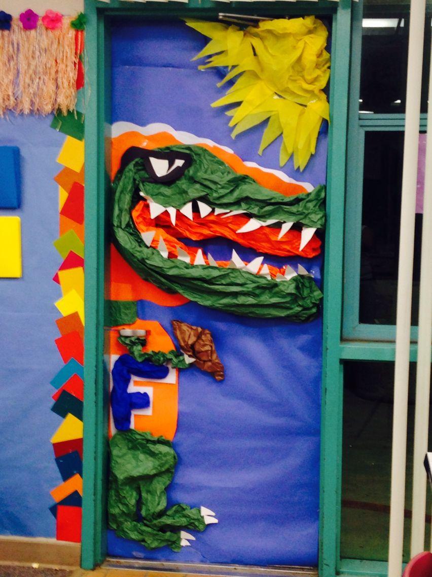 Florida gators classroom door great for a classroom