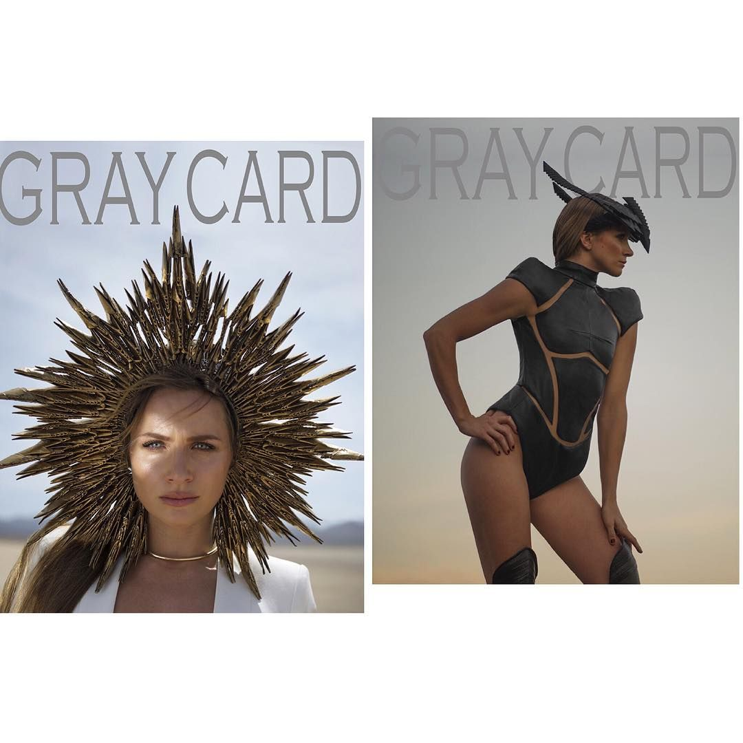 """""""@gray_card is FINALLY here!! You're wondering what it is? Well you're looking and the front and back cover of a limited collectors coffee table book with…"""""""
