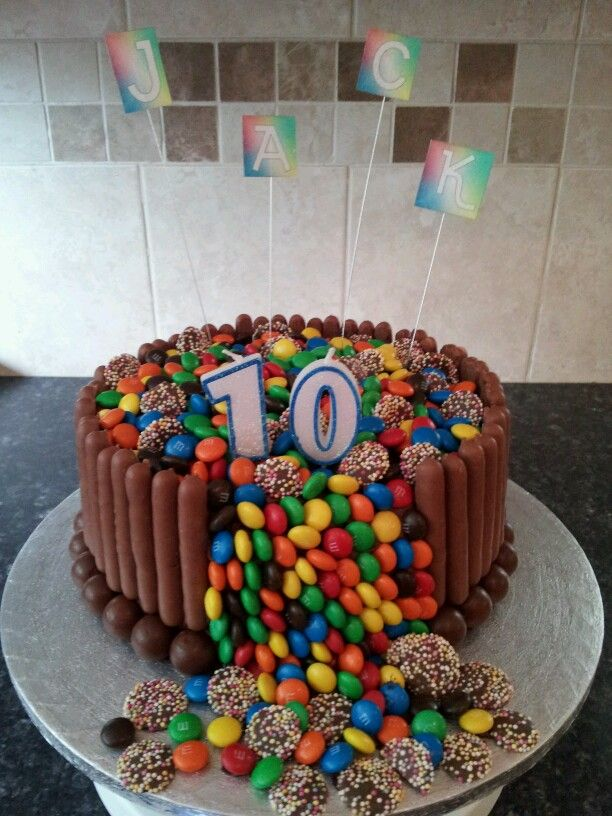 Kids Chocolate Overload Cake Tmachocolate Baking Pinterest