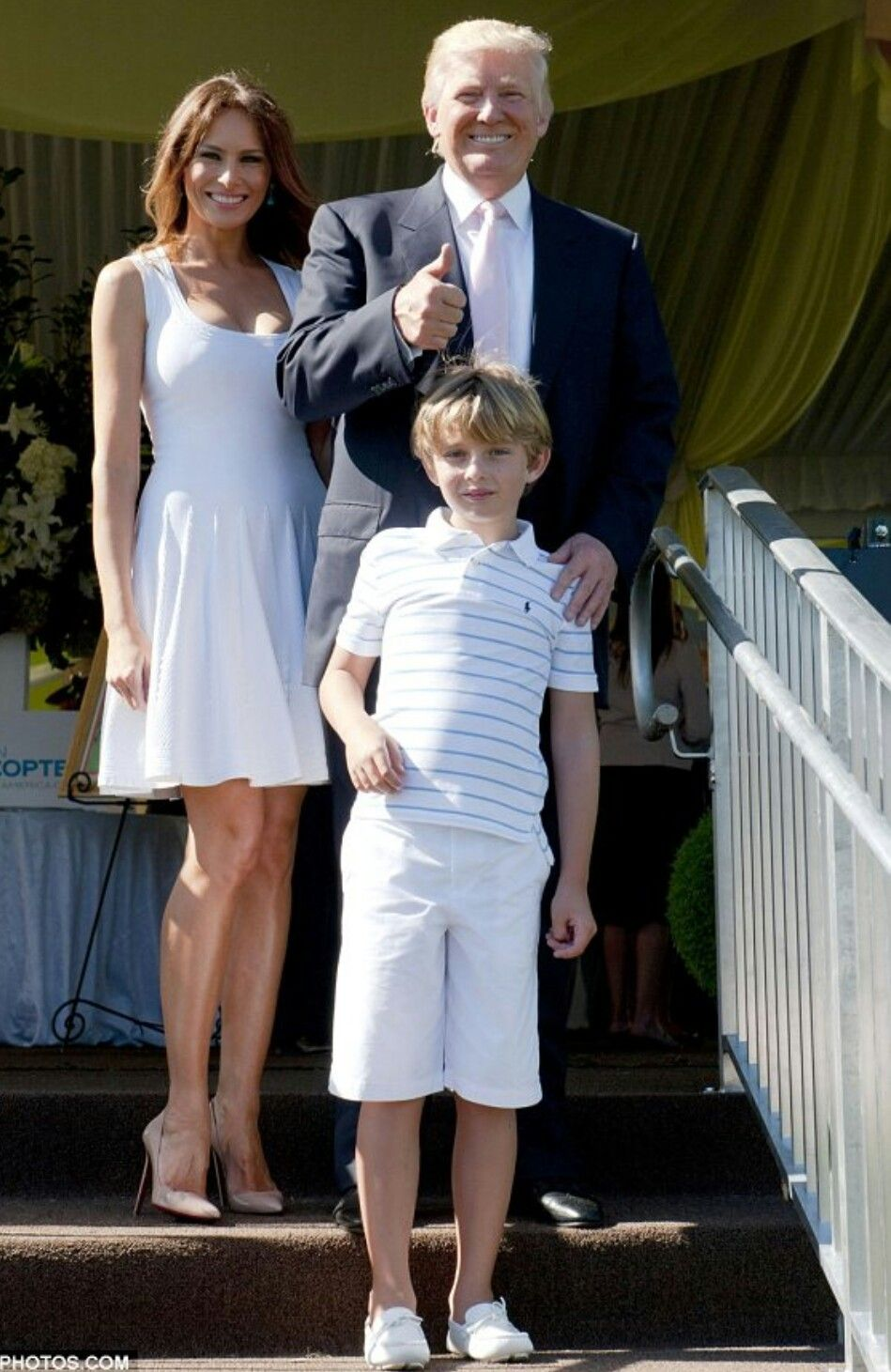 Donald And Family